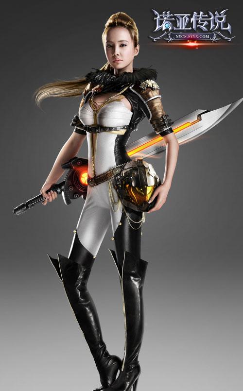 蔡依林cos未来女警 --《诺亚传说》官方网站